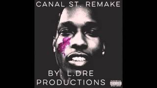 getlinkyoutube.com-A$AP ROCKY (Ft. Bones) - Canal St. Instrumental (Remake by L.Dre Productions)