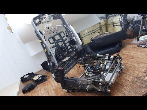 LEXUS LS 460S. Разбираю до каркаса передние сидения
