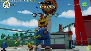 Lego Dimensions: Tour Through Lego Springfield World Hub - HTG
