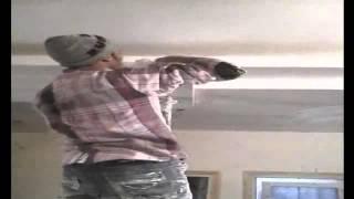 getlinkyoutube.com-طريقة تركيب دراع او سلاح جبس فى سقف معلق الاسلحة الجبس _ عثمان محمد عثمان