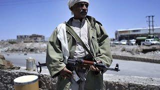 getlinkyoutube.com-اشتباكات في اليمن بين الجيش والحوثيين في محيط قصر الرئاسة