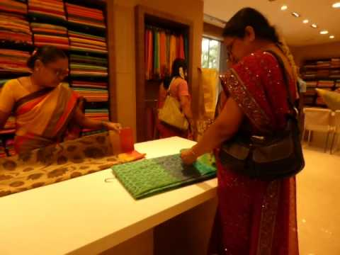 Saree selection video guide for men - part 6