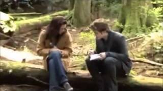 getlinkyoutube.com-Rob & Kristen - Behind the scenes!