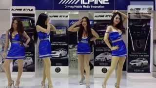 getlinkyoutube.com-Sexy Lady Alpine Dance-Thailand the 36th Bangkok International Motor Show
