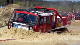 getlinkyoutube.com-NEW! Truck trial in deep water - Off Road MUDFEST Milovice