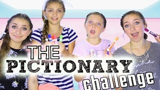 getlinkyoutube.com-The Pictionary Challenge | Brooklyn and Bailey