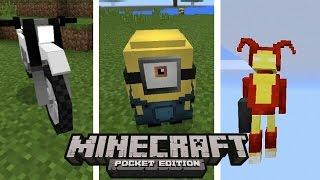 TOP 5 MELHORES ADDONS DO MINECRAFT POCKET EDITION ! (Minecraft PE)