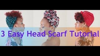 getlinkyoutube.com-89. 3 Easy Head Scarf Tutorial