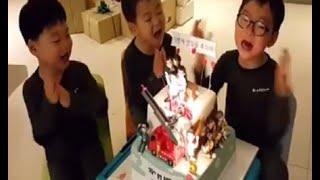 getlinkyoutube.com-[HAPPY BIRTHDAY] 삼둥이Triplet Daehan Minguk Manse Turn 4 | Celebrities Korean Kid