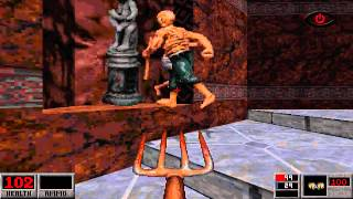 getlinkyoutube.com-Blood: E1M2: Wrong Side of the Tracks (PC) (1997) (Monolith Productions)