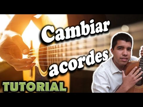 Aprender a tocar la guitarra (Ejercicio para cambiar acordes)- Chord exercise