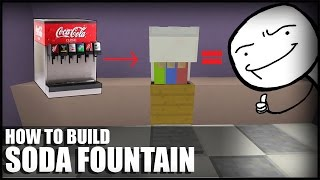 getlinkyoutube.com-How To Make A Soda Fountain in Minecraft