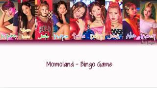 Momoland (모모랜드) – Bingo Game (빙고게임) Lyrics (Han|Rom|Eng|Color Coded)