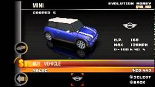 getlinkyoutube.com-Asphalt Urban GT2 (PSP) - All of the Cars!