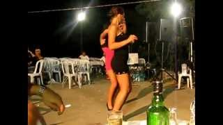 getlinkyoutube.com-2011 Sexy Romanian/Bulgarian Girls Dancing in Greek Fete!