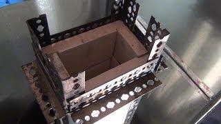 getlinkyoutube.com-Rocket Mass Heater - Heat Riser Rebuild