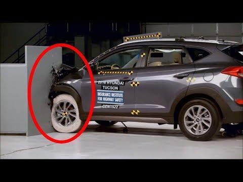 Hyundai Tucson 2016 ? Краш-Тест - Уцелел ли Водитель, Пассажир, Ребенок в кресле