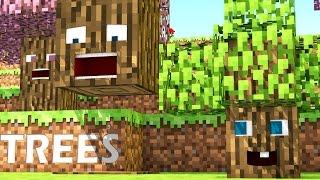 getlinkyoutube.com-Talking Blocks: Trees (Minecraft Animation)