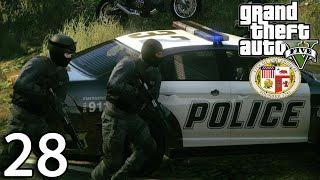 GTA V Police Mod 1.0c Day 28 - Prolonged Pursuit!