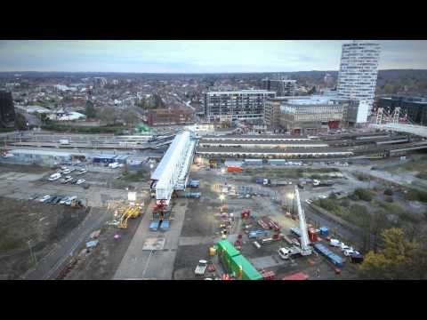 East Croydon Footbridge Launch