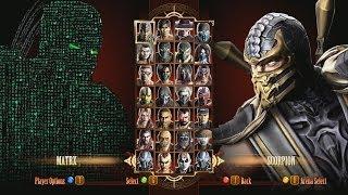 getlinkyoutube.com-Mortal Kombat 9 Fatalities Matrix