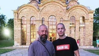 Отац Ненад са сином Богданом (