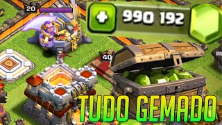 getlinkyoutube.com-Clash of Clans - CV 11 full - todo GEMADO