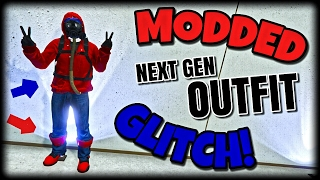 getlinkyoutube.com-GTA Online - *SOLO* MODDED OUTFIT GLITCH! 1.37 (NEXT GEN OUTFIT USING GLITCHES!) AFTER PATCH 1.37