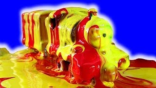 getlinkyoutube.com-Thomas Percy James Percy On Fire Painting Trains Hot Wheels Monster Truck Bling Awesome Fun