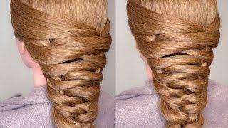 getlinkyoutube.com-Easy Bridal Tier Braid Hair Tutorial