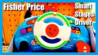 getlinkyoutube.com-Fisher Price Laugh and Learn Puppy's Smart Stages Driver - Over 80 Songs and Phrases