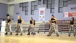 2012 Şov Dans Türkiye Şampiyonası Minikler 1 Kategorisi