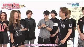 getlinkyoutube.com-中字 140723  一周偶像 Weekly Idol Apink + BTOB cut