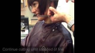 getlinkyoutube.com-GG Short BOB haircut