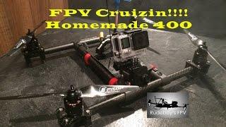 getlinkyoutube.com-FPV Cruizin! - Homemade 400 Quadcopter