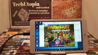 Nitendo Gamecube emulator Dolphin on Chuwi tablet, configuration,settings, test (Mario Kart)