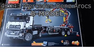 getlinkyoutube.com-42043 Mercedes-Benz Arocs B-MODEL time-lapse build