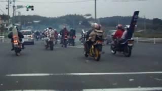 getlinkyoutube.com-Japanese Bikes and Police!
