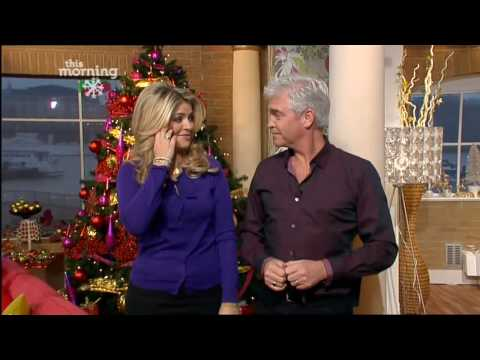 Holly Willoughby and Philip Schofield on This Morning - 16th December