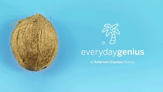 How to Crack Open a Coconut | Everyday Genius with Kari Byron
