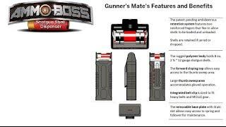 getlinkyoutube.com-On Target: Ammo Boss: Gunner's Mate Polymer Shotgun Shell Dispenser