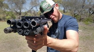 getlinkyoutube.com-Homemade Quad Barrel Shotgun - QB12