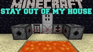 getlinkyoutube.com-Minecraft: STAY OUT OF MY HOUSE (MINES, LASERS, AND KEYCODES) Security Craft Mod Showcase
