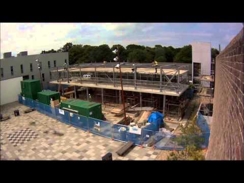Kent School of Architecture crit building construction video