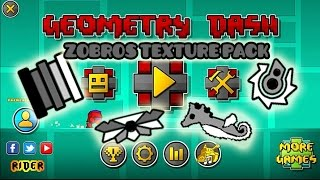 getlinkyoutube.com-Geometry Dash 2.01 - 2.011 ||  Zobros Texture Pack || By The Real Rider