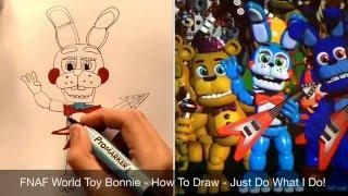 getlinkyoutube.com-FNAF World - How To Draw Toy Bonnie