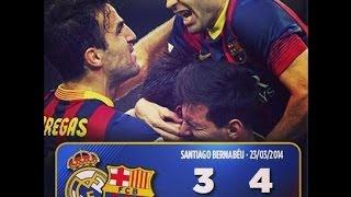 getlinkyoutube.com-Real Madrid vs FC Barcelona La Liga 13/14 3-4 Full Match