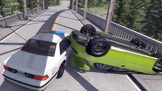 "getlinkyoutube.com-""Police Chase"" - BeamNG.drive"