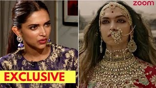 Deepika Padukone Opens Up On Performing The Jauhar Scene In 'Padmaavat' | Exclusive