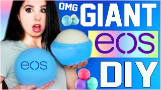 getlinkyoutube.com-DIY GIANT EOS Lip Balm! | How To Make The BIGGEST EOS In The World! | GIGANTIC EOS! | Grande EOS!